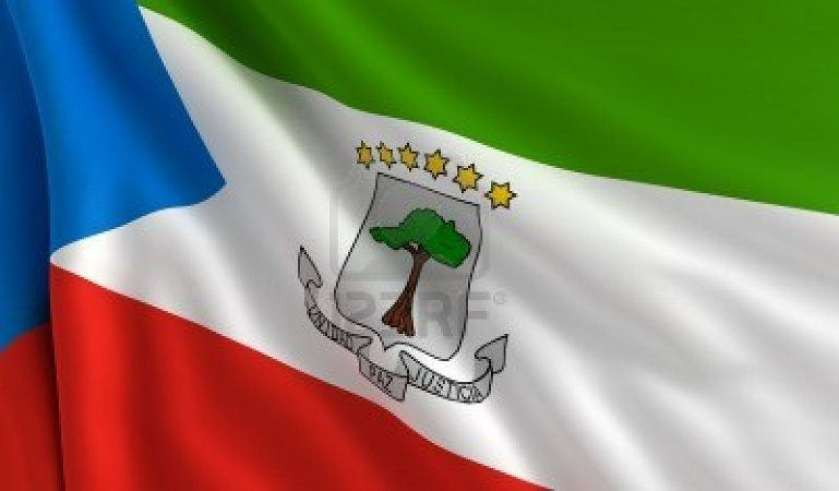 National flag of Equatorial Guinea - Small But Rich Countries