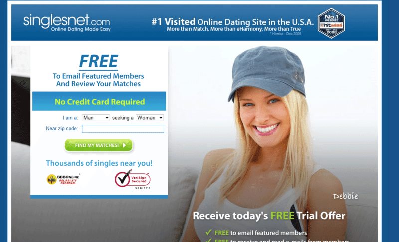 Free canada dating site without credit card