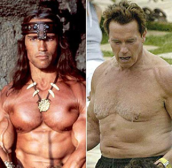 Arnold Schwarzenegger weight gain-1