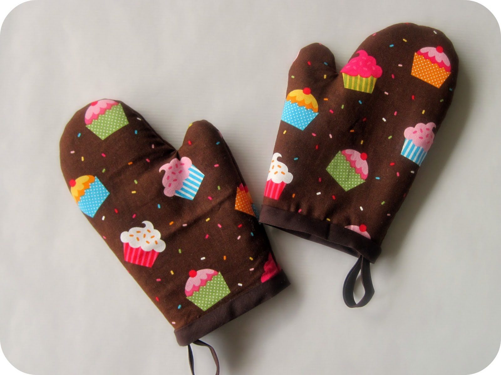 Hand made oven mittens